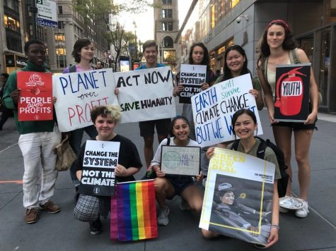 Sleepy Hollow Students Attend Climate Strike
